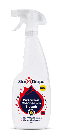 Stardrops Multi-Purpose Cleaner with Bleach